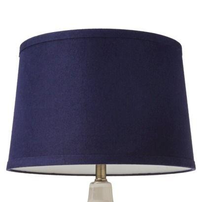 "Lamp Shades At Target Nate Berkus™ Lamp Shade  Blue Large Target Linen 100"" H X"