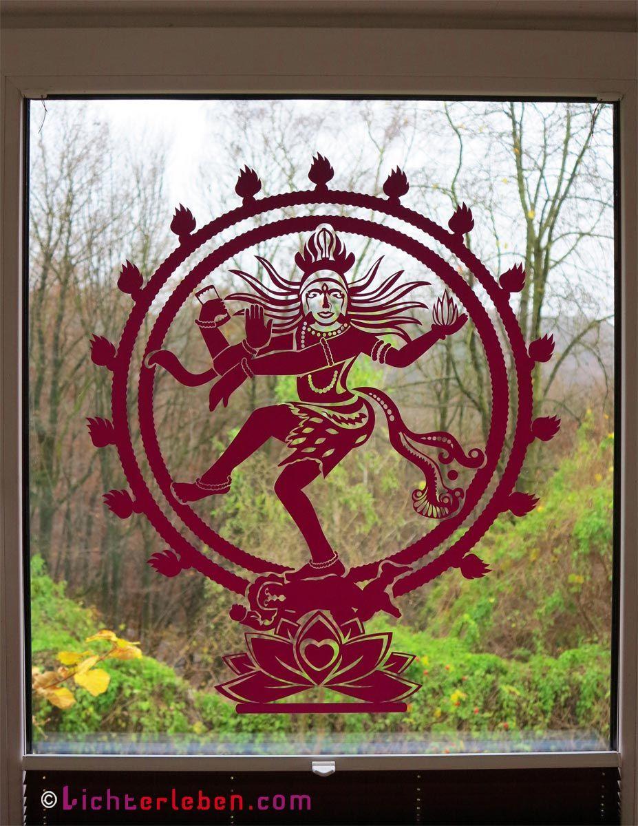 ... Shiva Als Wandtattoo Klebt Nun An Meinem Bürofenster...wunderschöner  Blick Nach Draussen (60cm Farbe: Pflaume) Om Namah Shivaya .