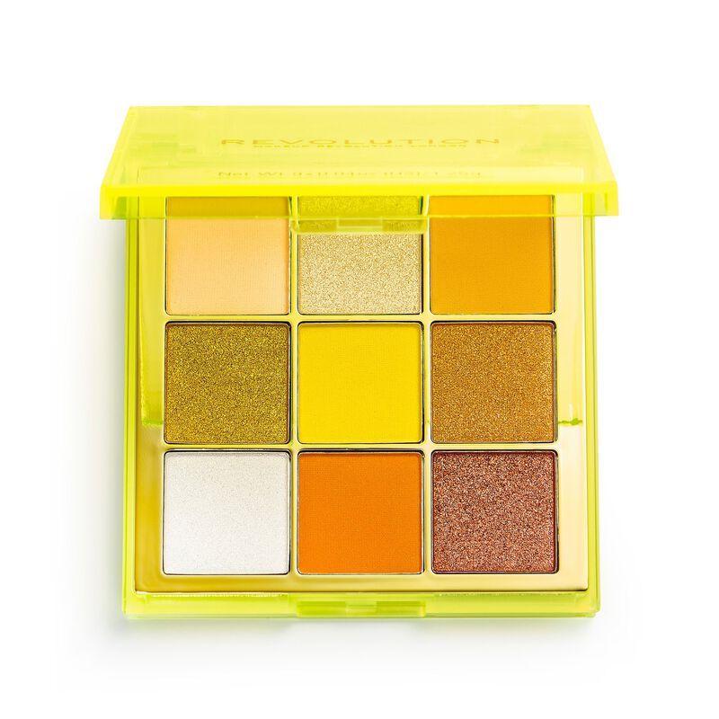 Makeup revolution viva neon eyeshadow palette electric