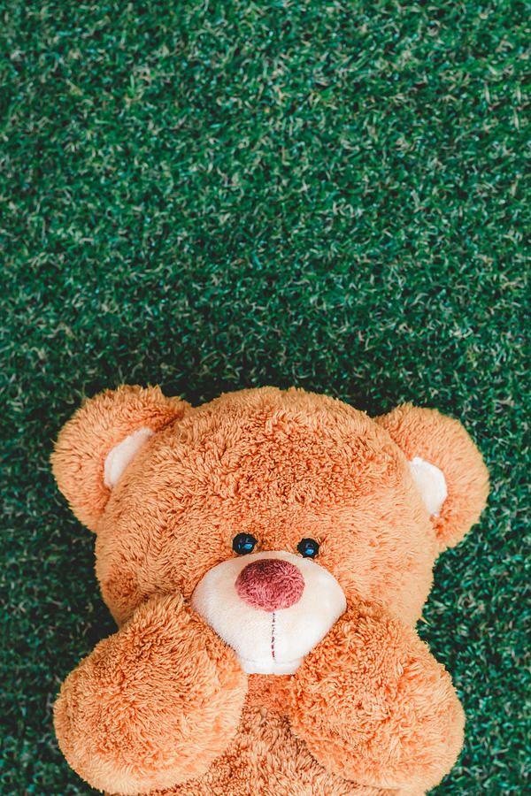 Cute Teddy By Kidsada Manchinda In 2021 Teddy Bear Wallpaper Teddy Bear Pictures Teddy Bear Images