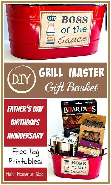 32 homemade gift basket ideas for men diy grill homemade gift