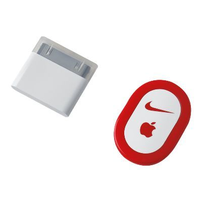 Track your runs while you jam to songs // Nike+ iPod Sport Kit