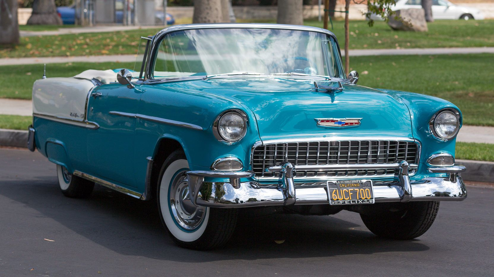 1955 Chevrolet Bel Air Convertible Presented As Lot F140 At