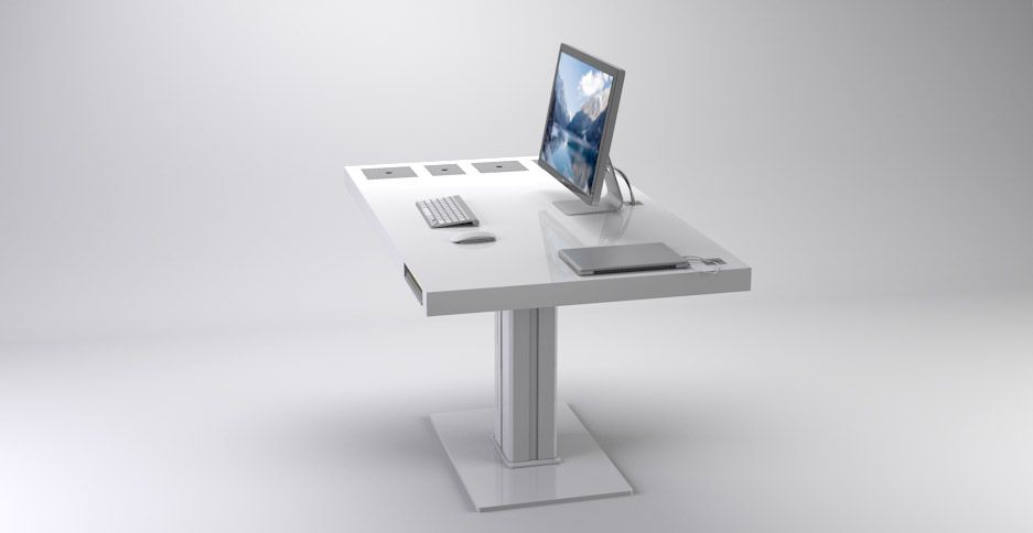 Check this desk out, follow the link for a video on what it can do.