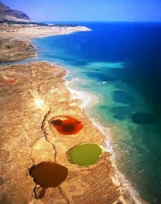 ظاهرة الثقوب الخطيرة والمرعبة التى تحدث فى البحر الميت Dead Sea Israel Travel Around The World Holy Land