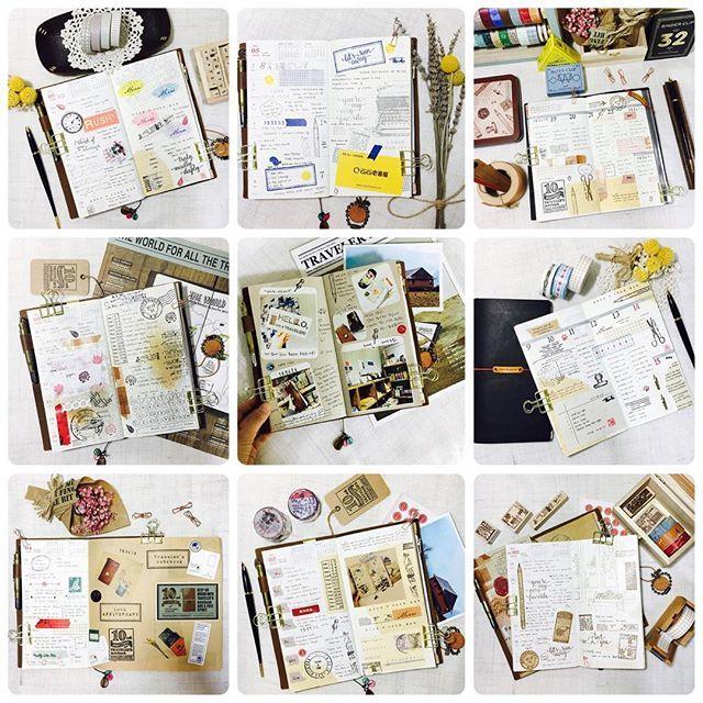 #travelersnotebook #midori #midoritravelersnotebook #travelersnote #planner #weekly #travelerscompany #journal #maskingtape #washitape #classiky #트래블러스노트 #다이어리 #다이어리꾸미기 #diary #vintagestamp #chamilgarden  My TN 💕