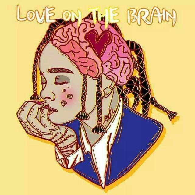 Rihanna Love On The Brain Dibujo Anti Rihanna Love Brain Art Art