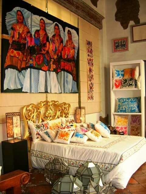Mexican decor wn trza ii en 2018 pinterest casa for Casa mexicana muebles