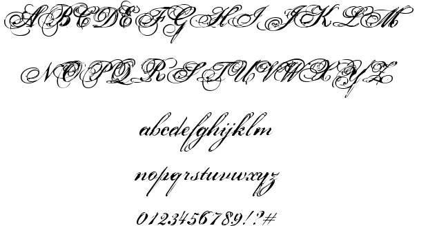 This is more research of script font for my typography