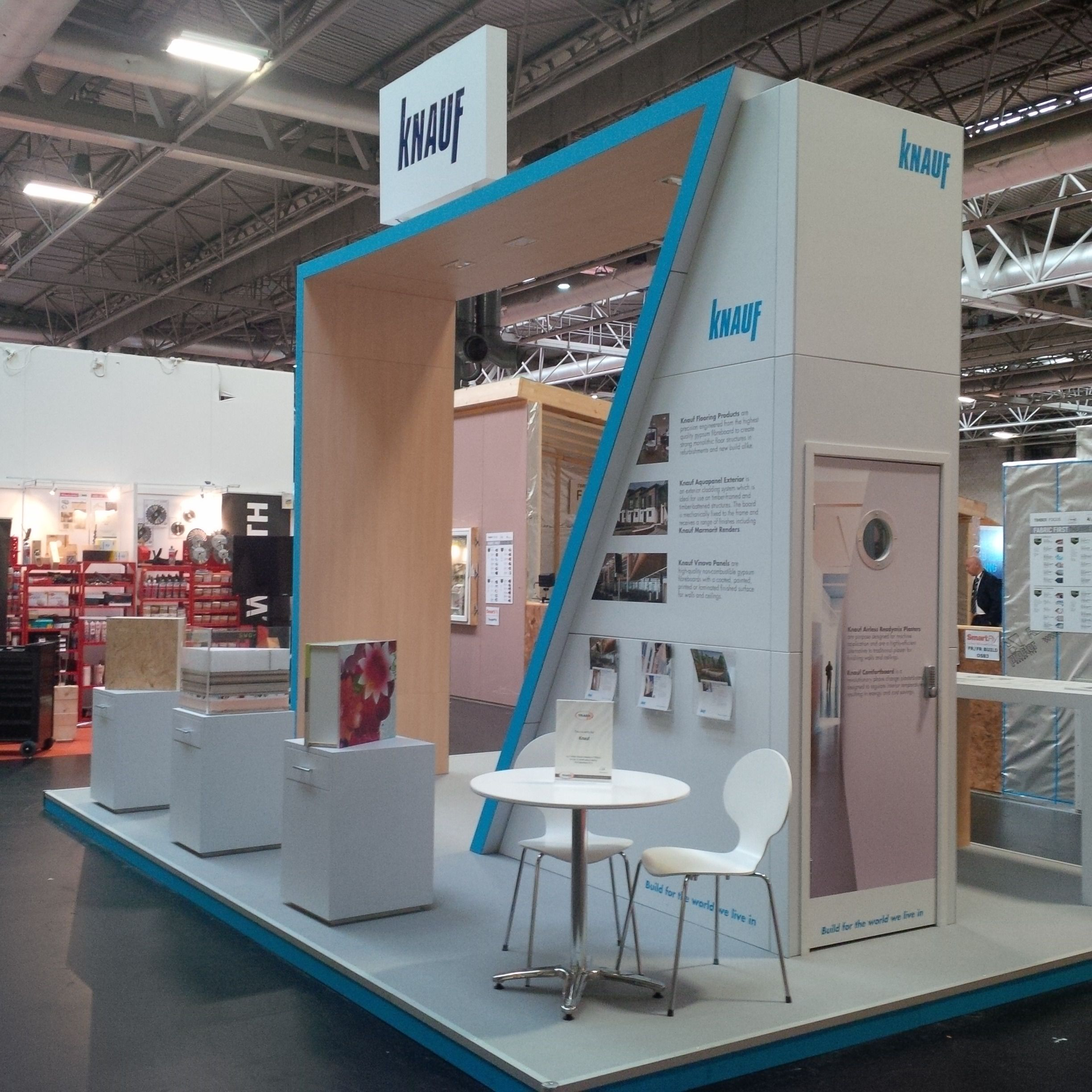 Exhibition Stand Display Ideas : Timberexpo day two knauf uk stand exhibition
