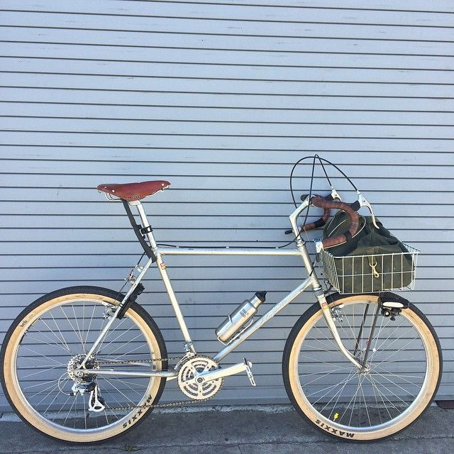 664b208e3e3 Specialized Stumpjumper, 1983, Brooks Saddle, Maxxis DTH, Wald Basket,  Nitto Dirt