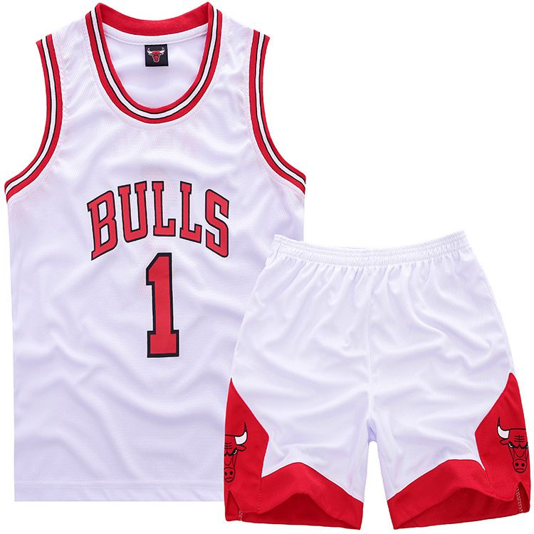 NBA Chicago Bulls #1 Derrick Rose Small Kids Sets (Jersey with ...
