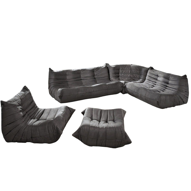 Fabulous Amazon Com Lexington Modern Waverunner Modular Sectional Evergreenethics Interior Chair Design Evergreenethicsorg