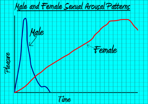 Image result for women arousal time graph