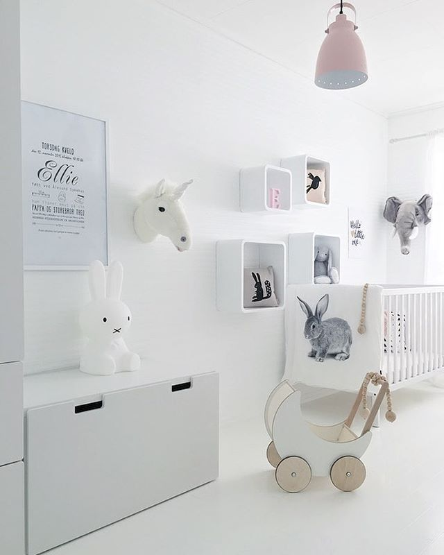 Ellie's room  Wish you a lovely Sunday evening ✨  #babyroom #barnerom #mittbarnerom #lilleskatten #waspsliving #oohnoo #ikeafamily #dream_interiors #homeinspiration #interiorwarrior #interior4all #interiorandhome #interior123 #interiorinspiration #interiorforinspo #myhome #nordicinspiration #onlyinterior #passion4interior #skandinaviskehjem #whiteinterior #vakrehjemoginterior #inspirasjonsguidennorge #miennasverden