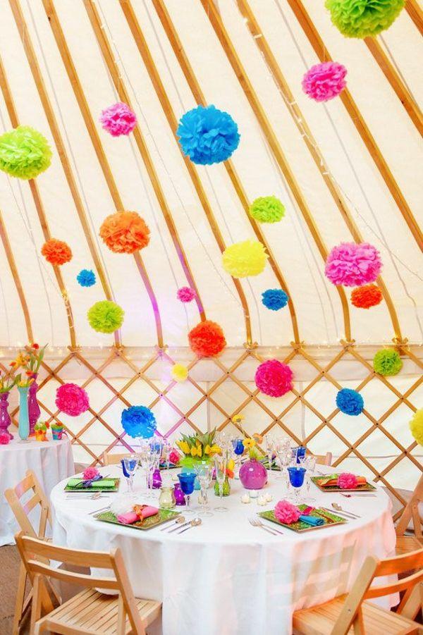 40 Gartenideen Fur Ihre Sommerparty Deko Happy Birthday