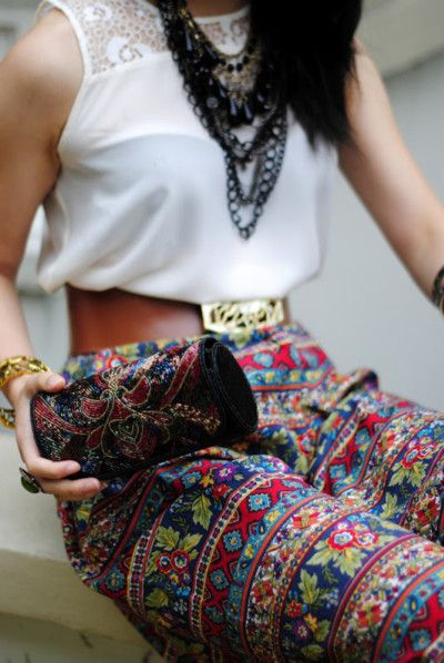 Going Global Fashion Boho Fashion Style