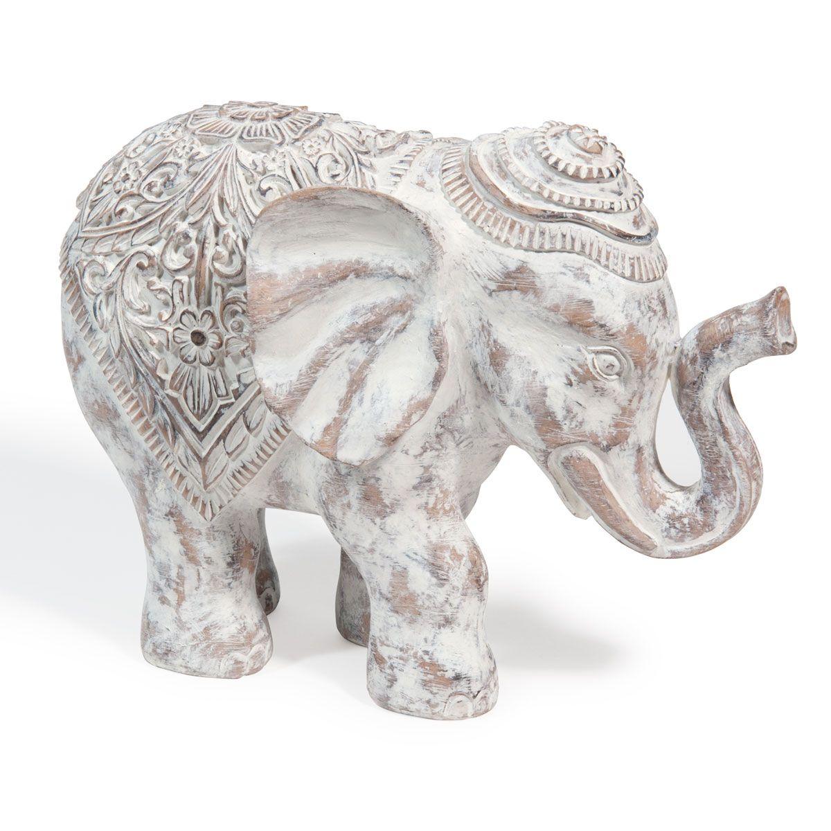 Statuette Figurine Et Bibelot Deco Elephant Decoration Boheme Chic Maison Du Monde