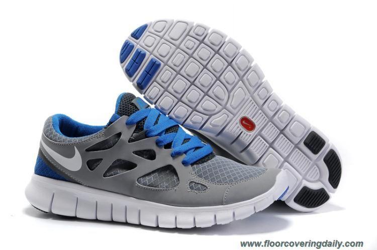 competitive price ac93f e1b39 443816-108 Mens Nike Free Run 2 Cool Grey White Black Varsity Royal Online    Nike Free Running Shoes   Pinterest   Nike, Nike free runs and Grey