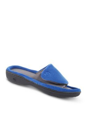 Totes Isotoner Terry Active Slide WpdLN