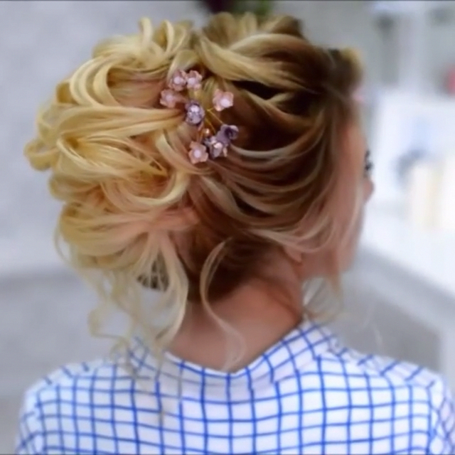 Do you wanna see more fab hairstyle ideas and tips for your wedding  Then, just visit our web site babe! hairtutorial braidtutorials hairvideo videotutorial updotutorial updoideas weddinghair bridalhair braidedUpdos is part of Hair styles -