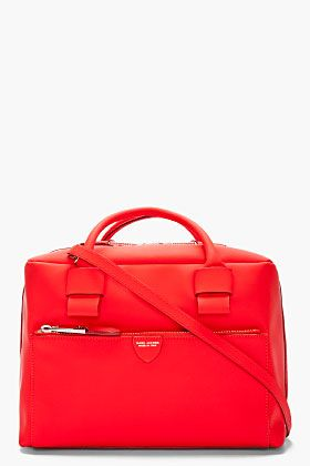 7741fdf1ef Marc Jacobs Vivid Red Leather Antonia Bag for women