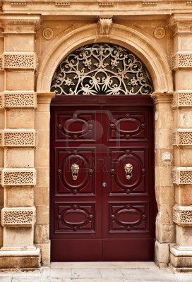 Stock Photo | Qatar History | Shades of maroon, Doors, Castle doors