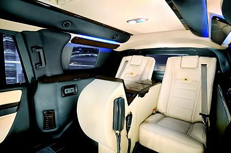 Second Interior View Possible In Our Armored Ford Expedition Xlt El