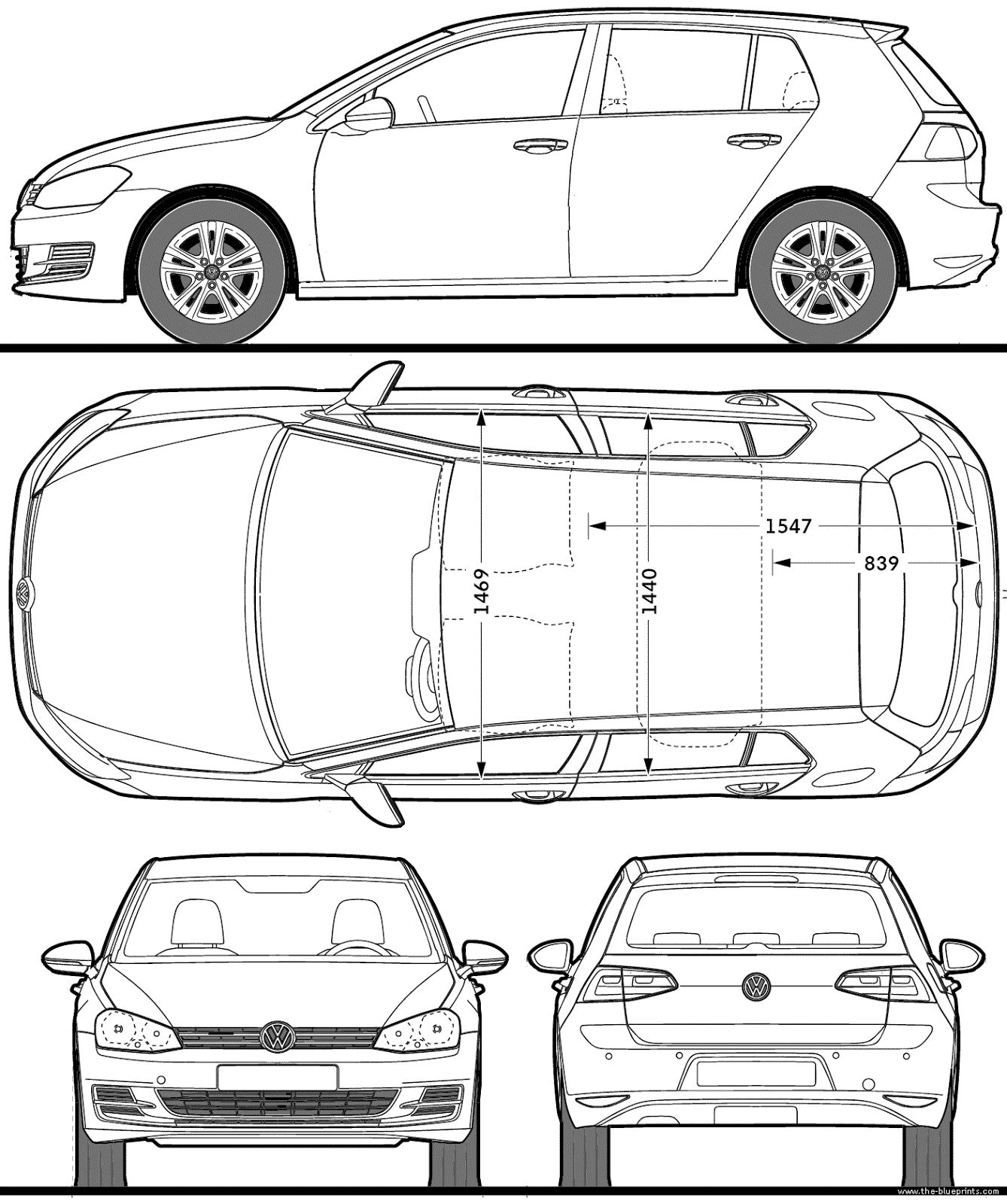 Volkswagen golf 5 blueprints pinterest volkswagen golf most loved car blueprints for modeling malvernweather Gallery