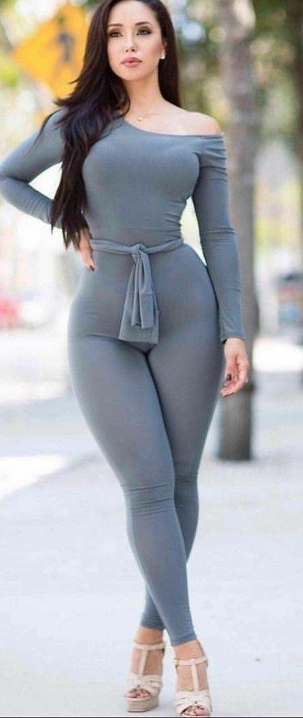 Hot big woman put in