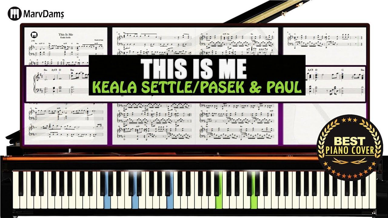 This Is Me/ Free Piano Cover Sheet Music (The (Greatest