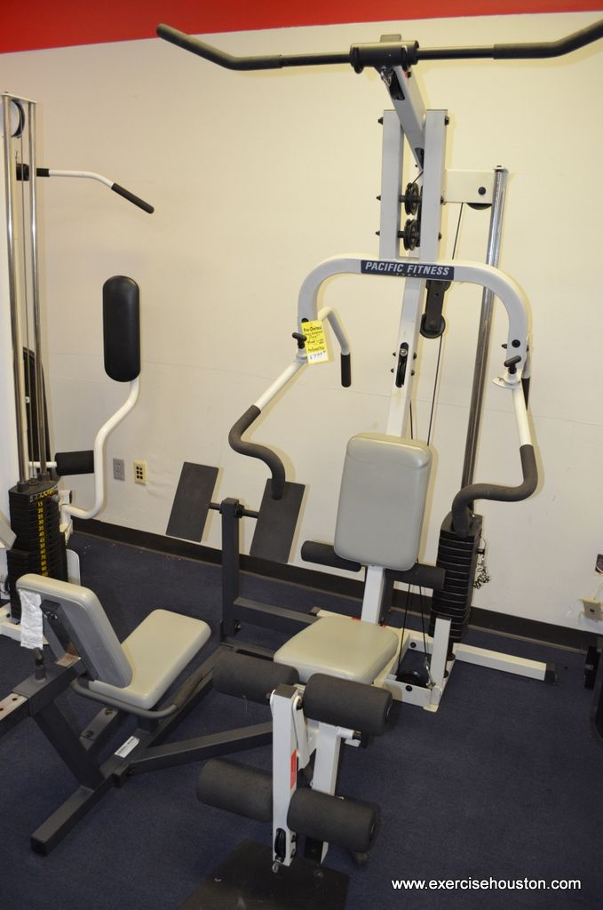 Excellent pacific fitness home gym digital photograph