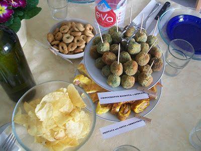 Che Birba: Crocchette ricotta e spinaci