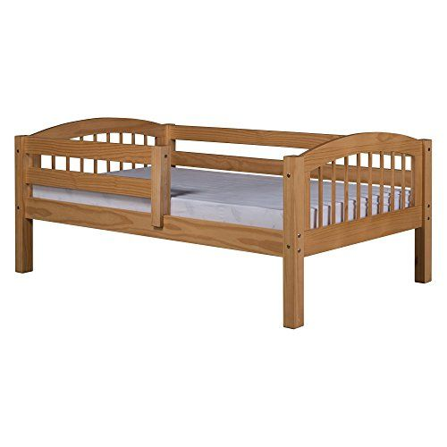 Camaflexi Arch Spindle Style Solid Wood Day Bed with Fron... | Nora ...