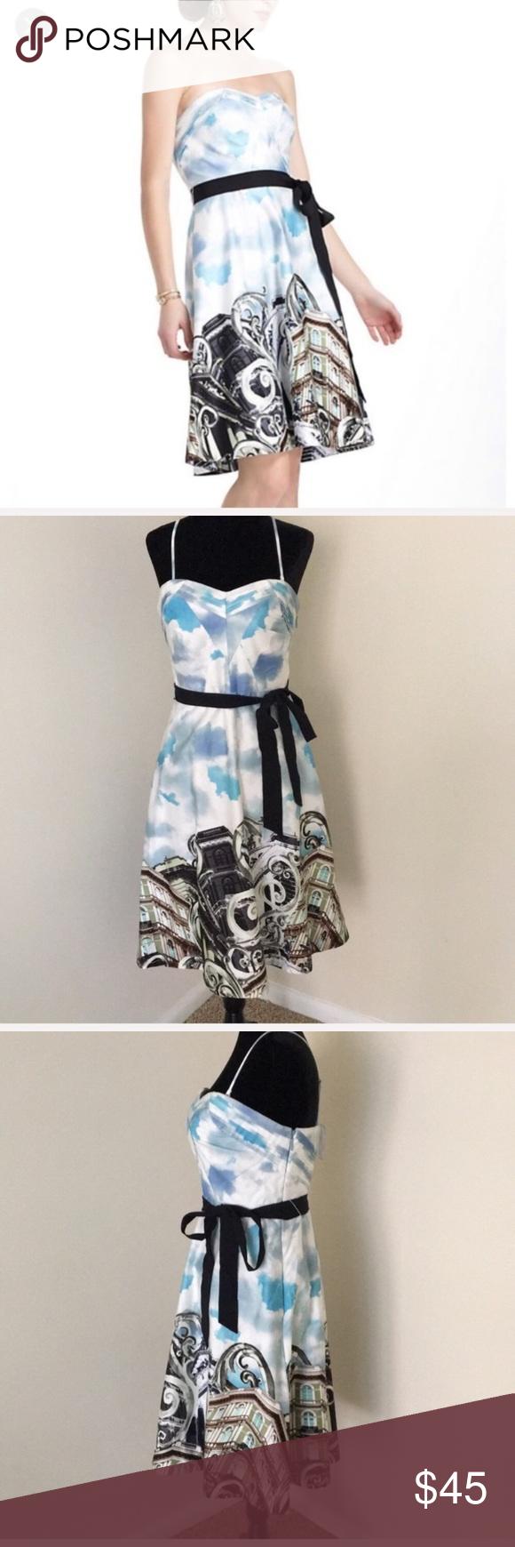 Anthropologie moulinette soeurs dress in my posh closet