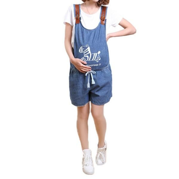 bfe159afa2f Maternity Pants Jeans Belly Care Pregnancy Trousers Casual Overalls  Jumpsuits Plus Size Pregnant Women Rompers Jumpsuit