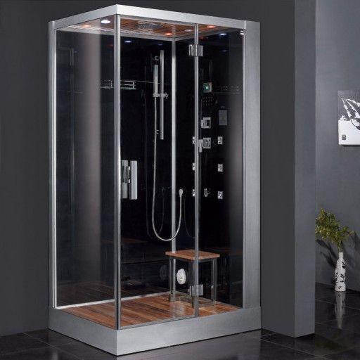 Ariel Bath Platinum 47 X 35 4 X 84 6 Pivot Door Steam Shower