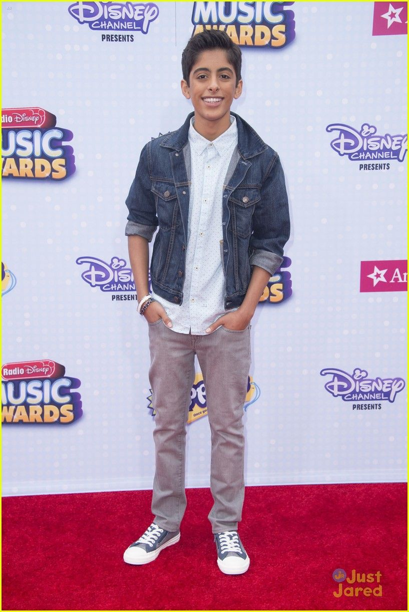 Karan Brar from JESSIE at the Radio Disney Music Awards 2015. Truly one of the sweetest kids I know.