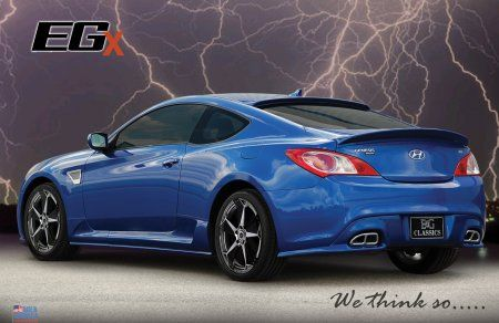 Hyundai Genesis Coupe 9 Piece EGX Aero Body Kit (G029)