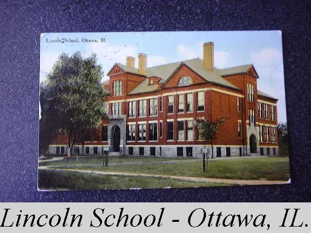 Lincoln School Ottawa Illinois This School Building Is Still In