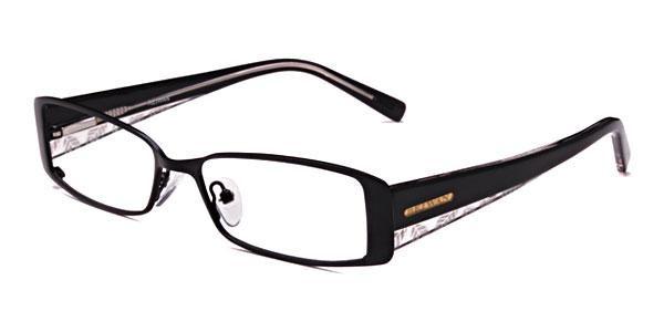 George - Black Eyeglasses - NY Optician - http://nyoptician.info/go/glassesshop/