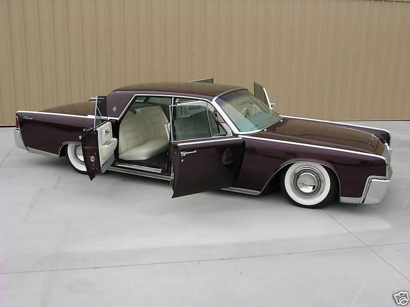 BlackListed Slammed Old Classic Car | Lincoln\'s of the 60\'s ...