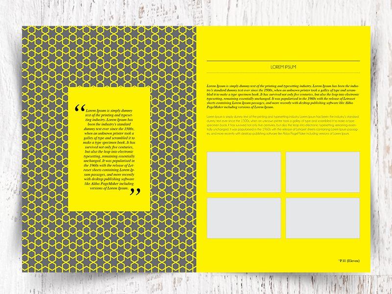 Indesign Portfolio Template | Templates