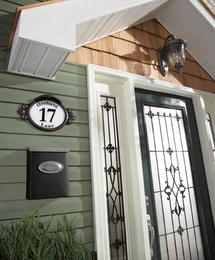 Add small roof jut-out to create a bigger statement at the entrance. & Try a wood exterior door for more warmth! | Exterior Doors ... pezcame.com