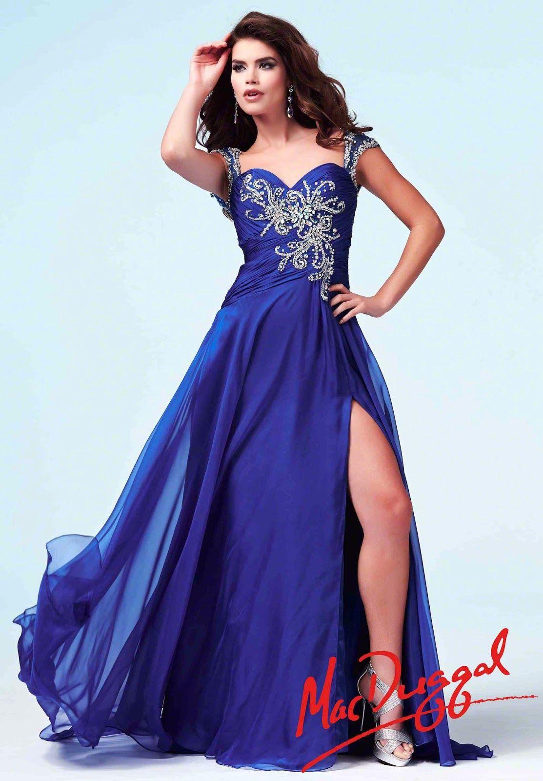 Asombrosos vestidos largos de graduación | Moda y Tendencias | NG ...