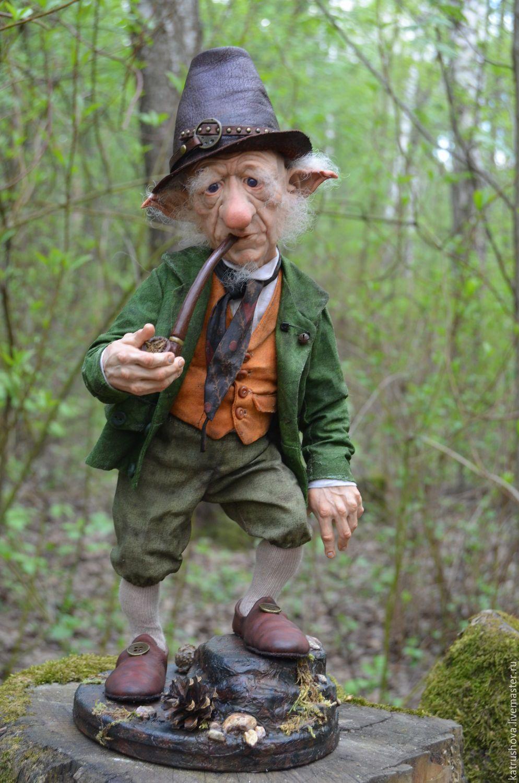 Купить Томас - тёмно-зелёный, гном, лепрекон, сказочный ...