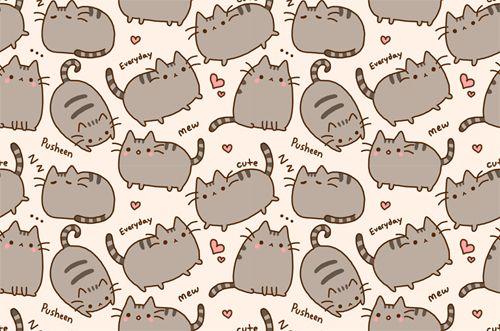 Kawaii Cat Wallpaper Cute Tumblr Wallpaper Pusheen Cat Cute Wallpapers