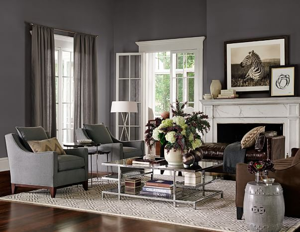 living room  williamssonoma  home living room luxe