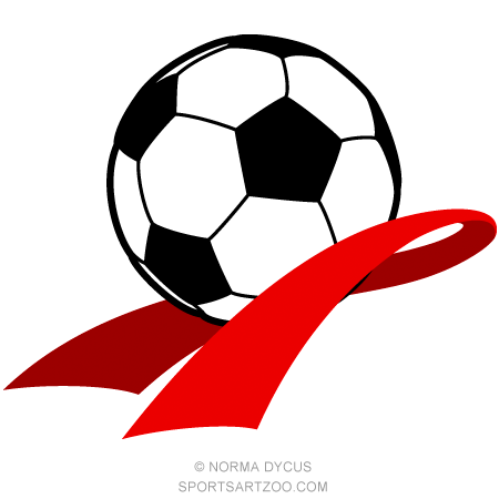 Soccer Heart Health Awareness Design Sportsartzoo Heart Health Awareness Awareness Heart Health