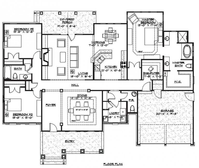 Mercer House Plans Floor